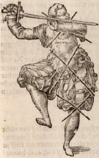 Gründtliche Beschreibung der freyen Ritterlichen und Adelichen Kunst des Fechtens in allerley gebreuchlichen Wehren, mit schönen und nützlichen Figuren gezieret und fürgestellet