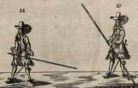 Kurtze Anleitung des Jäger Stocks, oder halbe Pique