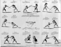 A new, short and easy method of fencing: or The art of the broad and small sword, rectified and compendized, wherein the practice of these two weapons is reduced to so few and general rules, that any person of indifferent capacity and ordinary agility of the body, may, in a very short time, attain to, not only a sufficient knowledge of the theory of this art, but also to a considerable adroitness in practice, either for the defence of his life, upon a just occasion, or preservation of his reputation and honour in any accidental scuffle, or trifling quarrel