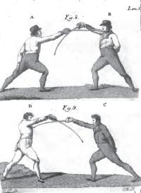 Tratado elemental de la destreza del sabre, compuesto por Don Simon de Frias maestro de todas las armas examinado
