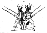 Ecole du tirailleur, ou maniement de la baionnette appliqué aux exercices et manoeuvres de l'infanterie