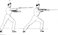 Manual of bayonet exercises prepared for the use of the army of the United States from the French of A.J.J. Posselier (Gomard)