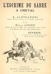 L'escrime du sabre à cheval