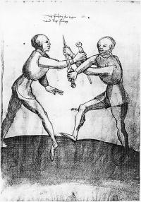 Livre d'escrime de Talhoffer (code d'Ambras) de l'an 1459: contenant les duels judiciares et autres public