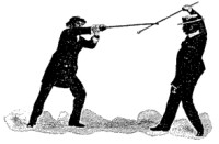 Self-defence with a Walking-stick
