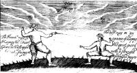 The Compleat Fencing Master In which is fully Described the whole Guards, Parades & Lessons, Belonging to the SMALL-SWORD; AS ALSO the best RULES for playing against either Artists or Ignorants, with Blunts or Sharps. TOGETHER With Directions how to Behave in a Single Combat or Horseback: Illustrated with Figures representing the most necessary Postures