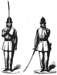 A manual of drill and sword exercise, prepared for the use of the county and district constables