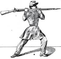 Skirmishers' drill and bayonet exercise: (as now used in the French army) with suggestions for the soldier in actual conflict