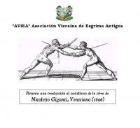 Escuela o teatro, Nicoletto Giganti/ translator Eugenio Garcia-Salmones
