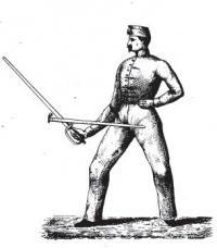 Manuel d'escrime á la contre-pointe, composé pour les officiers de toutes armes