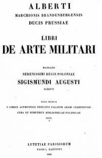 Libri de Arte Militari