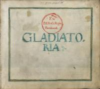 Gladiatoria MS. Berol. Germ. Quart. 16