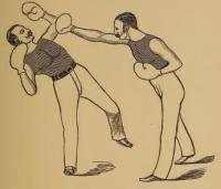 The teacher of sparring
