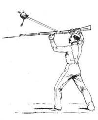 Gymnastique militaire: Escrime à la baïonnette
