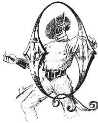 Los secretos de la espada : exposicion y comentario de las doctrinas del Barón de Bazancourt sobre la esgrima por Luís Ricardo Fors ; ilustraciones de De Neuville, Fortuny, Gamarra, Genilloud, Jazet ; y fotograbados por F. Ortega