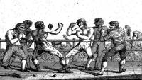 Modern Manhood or the Art and Practice of English Boxing. Including the History of the Science of Natural Defence; and Memoirs of the most Celebrated Practicioners of that Manly Exercise