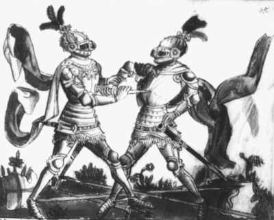 Gladiatoria MS. Berol. Germ. Quart. 16